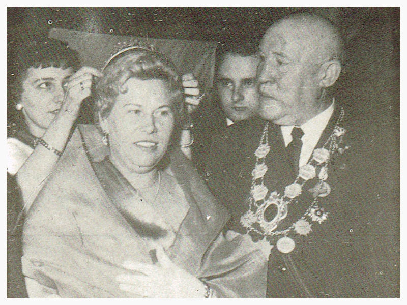 König Otto Heermann 1953 - Schützenverein Hagen Holthausen