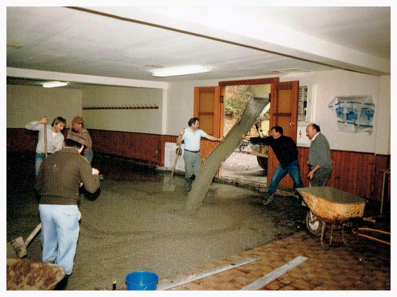 Umbauten 1984 - Schützenverein Hagen Holthausen
