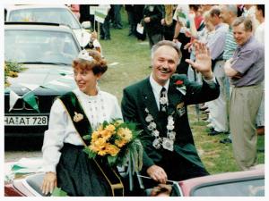König Reinhold Rode 1993 - Schützenverein Hagen Holthausen