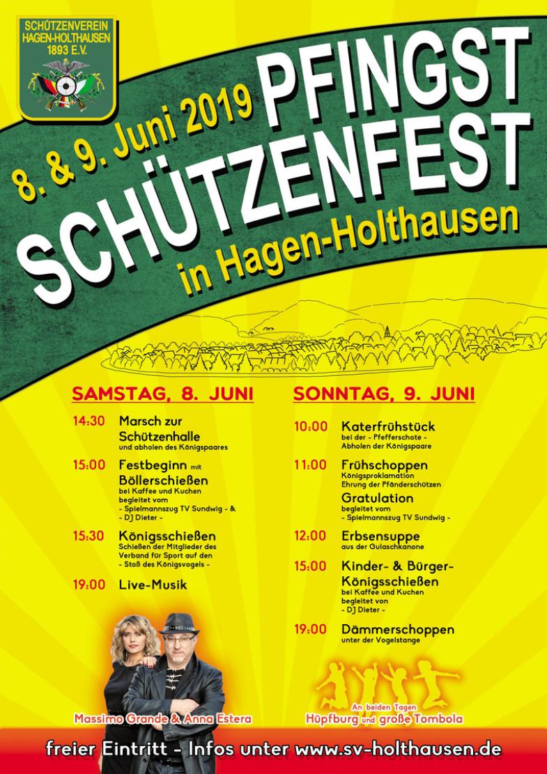 Pfingst Schützenfest Hagen Holthausen